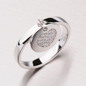 Stříbrný prsten se srdcem RXX07150188