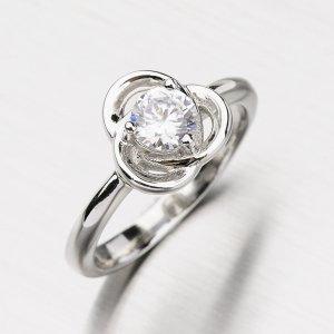 Prsten ze stříbra se zirkonem GLM11-007