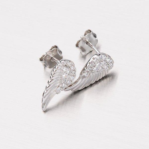 Peckové náušnice - andělská křídla EXX31180021