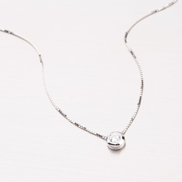 Stříbrný náhrdelník YNG65042-RH