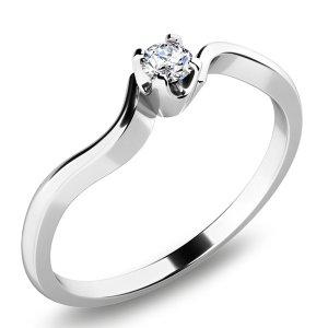 Prsten s diamantem 10729D