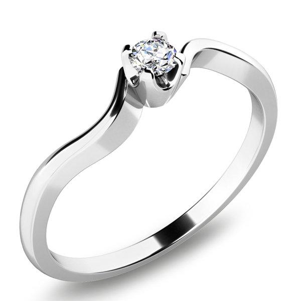 Prsten s diamantem 10937D