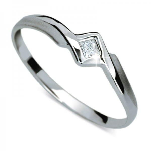 Dámský prsten s diamantem DF1113