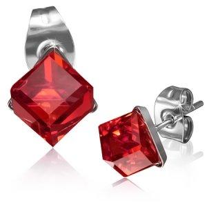 Pecky s červeným krystalem GXRY259