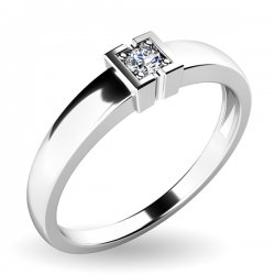 Zásnubní prsten se zirkonem ZP-10936