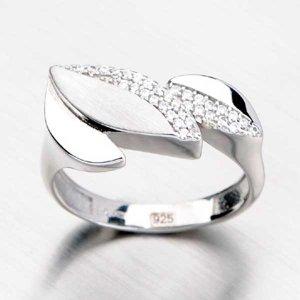 Stříbrný prsten ALY-365-OKS