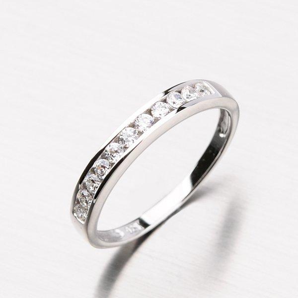 Stříbrný prsten se zirkony RXX07150162