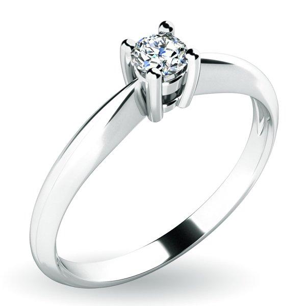Zásnubní prsten se zirkonem ZP-10702a