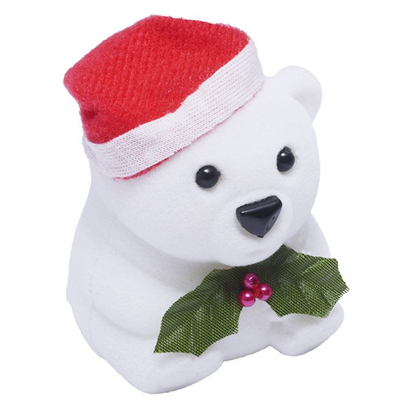 Krabička na šperky - vánoční medvídek FU-207/A1