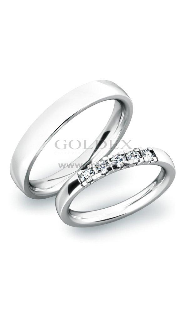 Snubni Prsteny Sp 61030b Goldex Cz