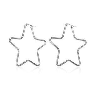 Náušnice - hvězdy 50mm GTEC026