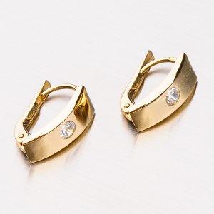 Zlaté dámské náušnice 42-31508