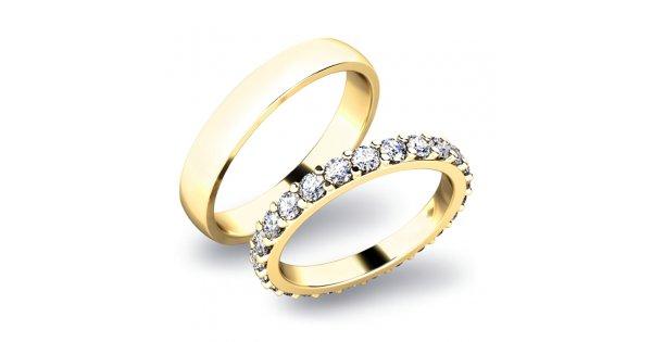 Snubni Prsteny Zlate Sp 61029z Goldex Cz