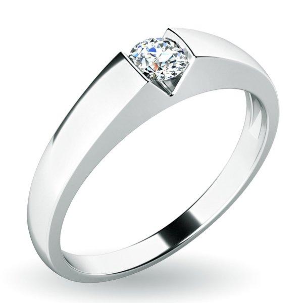 Zásnubní prsten se zirkonem ZP-10933