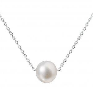 Stříbrný náhrdelník s perlou 22014.1