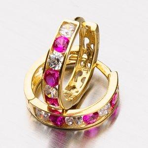 Zdobené zlaté kroužky 42-32058