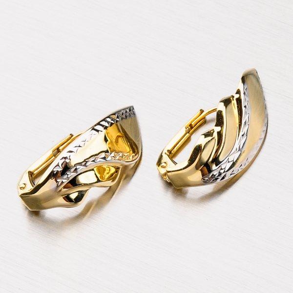 Zlaté náušnice 42-31468