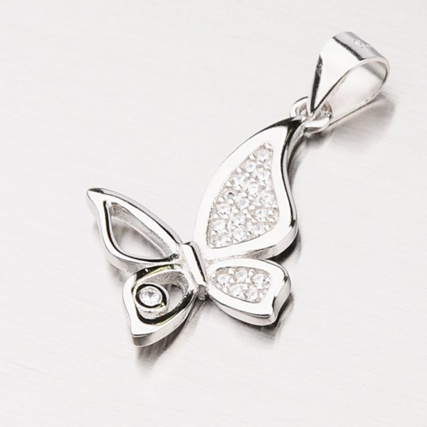 Motýl ze stříbra GLM13-005