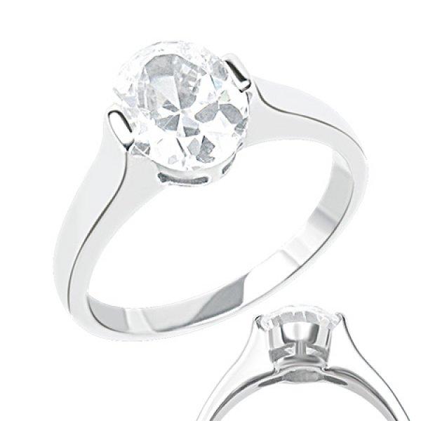 Dámský prsten se zirkonem GRCZ068