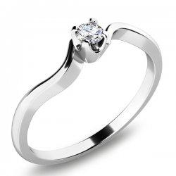 Zásnubní prsten se zirkonem ZP-10729