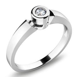 Zásnubní prsten s diamantem ZP-10934D
