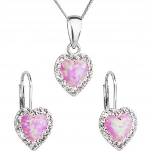 Souprava se Swarovski ELEMENTS 39161.1 rose