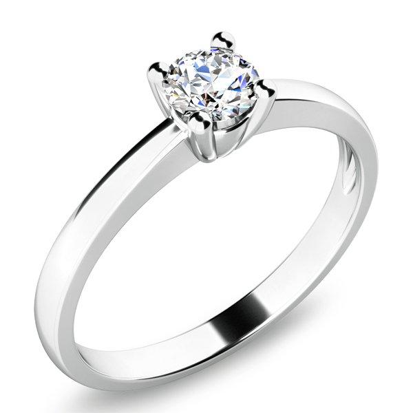 Zásnubní prsten se zirkonem ZP-10670
