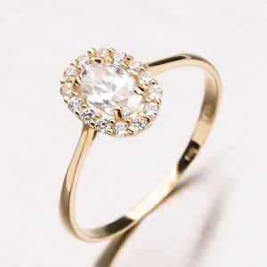 Prsten se zirkony 11-162