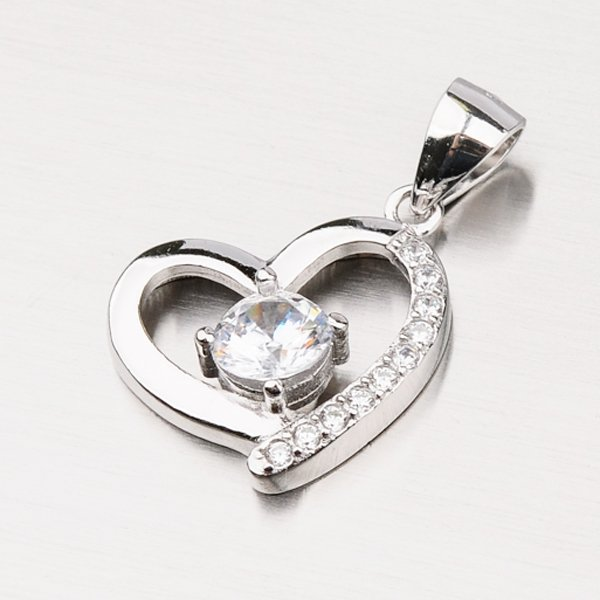 Stříbrné srdce GLM13-001