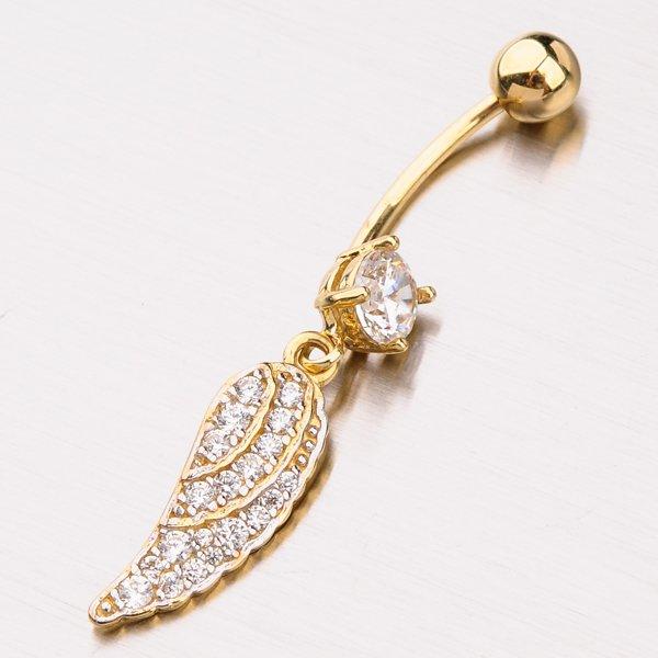 Zlatý piercing 42-21653
