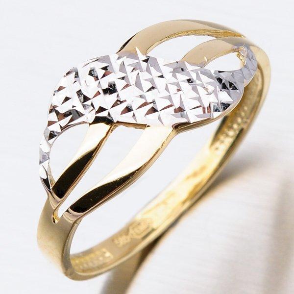 Dámský zlatý prsten 41-NY133