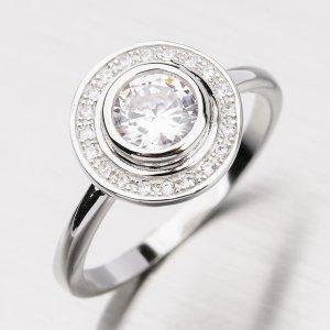 Prsten se zirkony GLM11-002