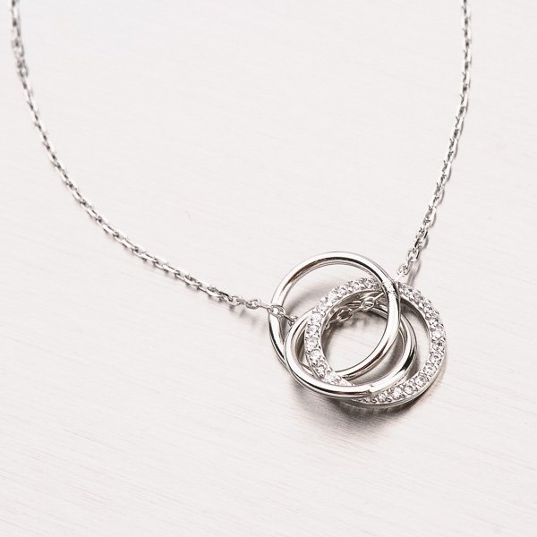 Náhrdelník ze stříbra NXX26180123