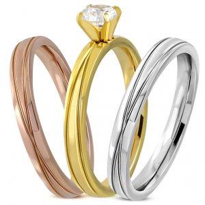 Set ocelových prstenů GVRR493