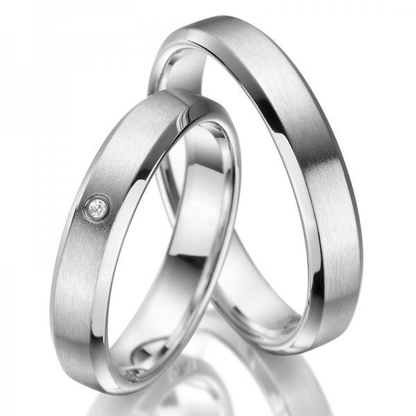 Stříbrné snubní prsteny SP-SI-006