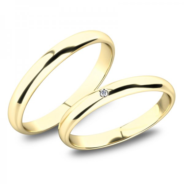 Snubní prsteny ze zlata SP-61100-01-01-Z