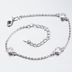 Stříbrný náramek BST-14405