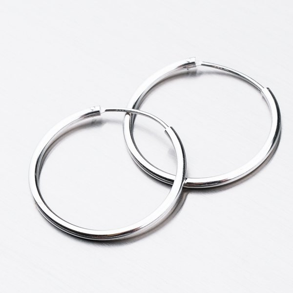 Stříbrné kruhy UCST-12351-25