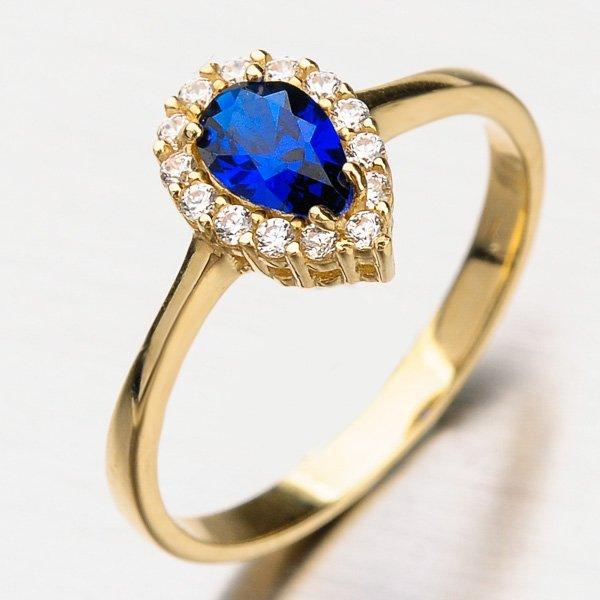 Prsten ze žlutého zlata 11-209