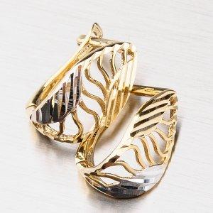 Náušnice ze zlata 42-31625
