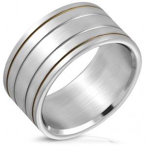 Ocelový prsten GXXR789