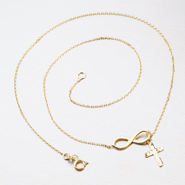 Zlatý náhrdelník 45-1742