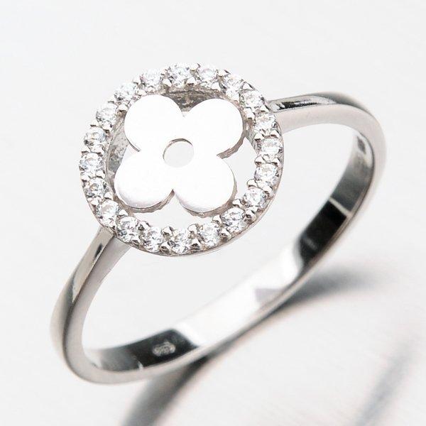 Prsten se zirkony 11-264