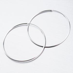 Stříbrné kruhy UCST-121408/50