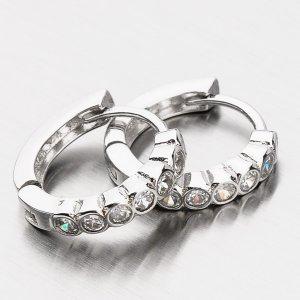 Stříbrné kruhy EXX09170070