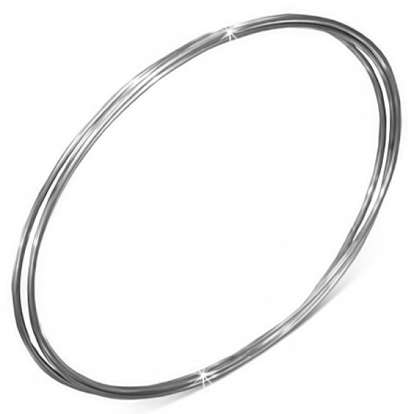 Ocelové náramky - kruhy GBCH836