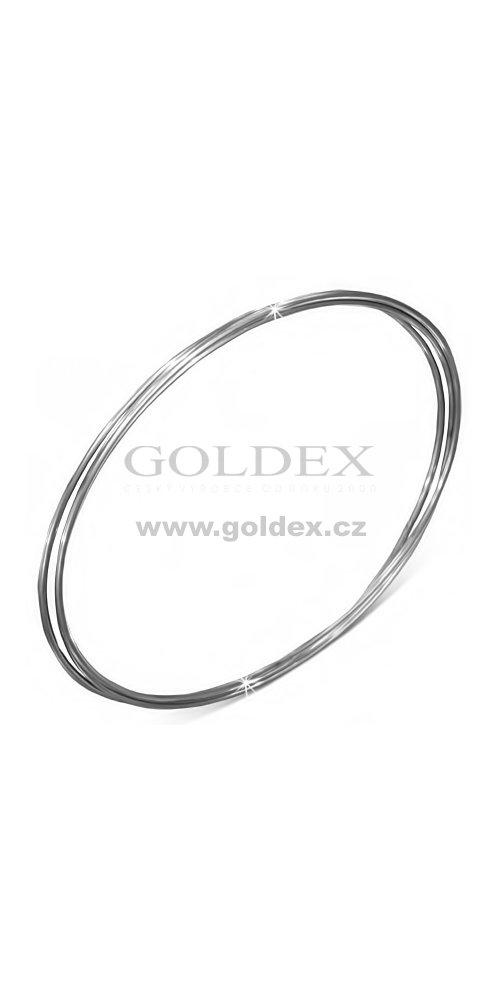 1c21bd03c Ocelové náramky - kruhy GBCH836 : Goldex.cz