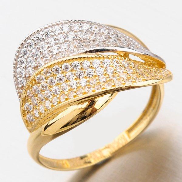 Prsten se zirkony 11-261