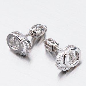 Stříbrné náušnice pecky UPST-121550S