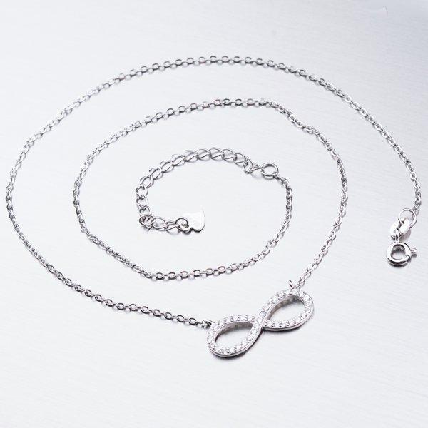 Stříbrný náhrdelník nekonečno SST-151017
